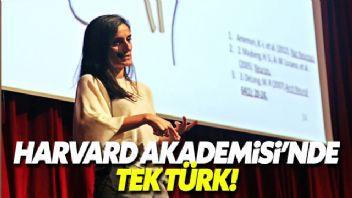 Harvard Üniversitesi Genç Akademi'ye seçilen ilk Türk
