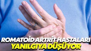 Romatoid Artrit hastaları yanılgıya düşüyor