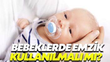 Bebeklerde emzik kullanılmalı mı, kullanılmamalı mı?