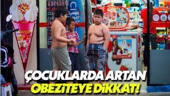 Dünyanın pek çok yerinde, çocuklarda obezite artıyor