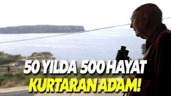 50 Yılda 500 Hayat Kurtardı