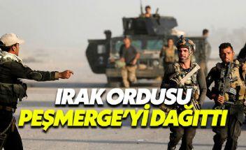 Barzani'nin peşmergeleri Kerkük'te havlu attı