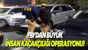 FBI, Uluslararası İnsan Ticareti operasyonunda 80'den fazla çocuğu kurtardı