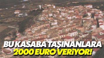 İtalya'da bir kasaba yerleşenlere 2000 euro veriyor