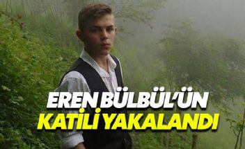 Eren Bülbül'ün katili olan PKK'lı terörist yakalandı