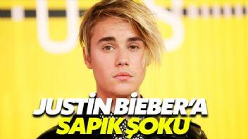 Justin Bieber'a sapık şoku