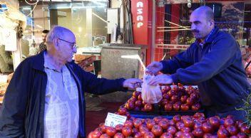 Tezgahlarda domatesin ateşi yükseldi