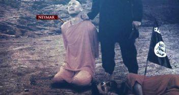 Terörist DEAŞ'ın son hedefi Neymar