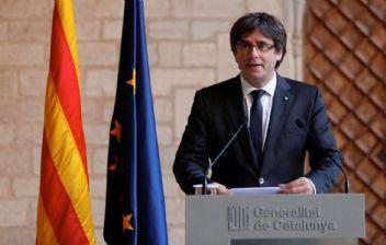 Katalan lidere şok yakalama kararı