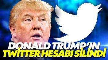 Donald Trump'ın Twitter hesabı silindi