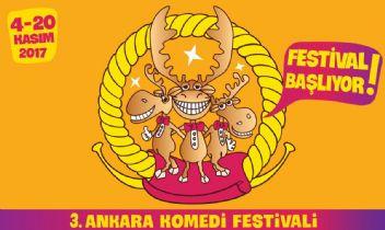 Ankara'nın yüzü Komedi festivaliyle gülecek..