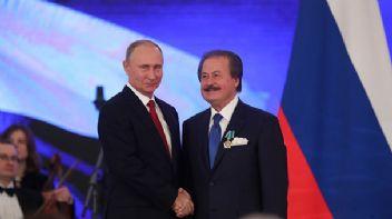 Putin'den Türk işadamına dostluk nişanı