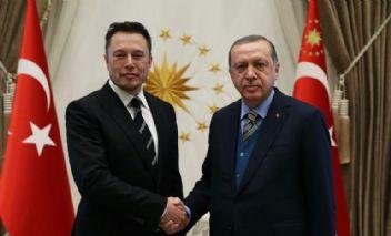 Erdoğan, Tesla'nın patronu ile Beştepede görüştü