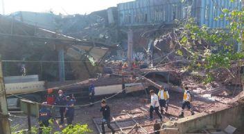 Bursa'da fabrikada patlama ve göçük: 5 ölü