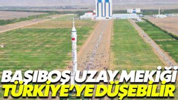 Uzay mekiği Türkiye'ye düşebilir