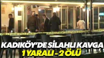 Kadıköy'de silahlı kavga: 2 ölü