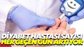 Türkiye'deki diyabet hastası artışı korkutuyor