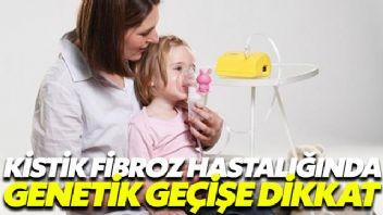 Kistik Fibroz hastalığında genetik geçişe dikkat