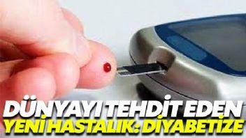 Dünyayı tehdit eden yeni hastalık: Diyabezite