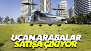 Uçan arabalar satışa çıkıyor