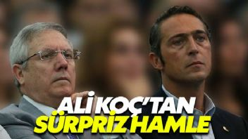 Fenerbahçe Başkan Adayı Ali Koç'tan sürpriz hamle