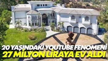 Youtube Fenomeni, 27 milyon liralık ev aldı