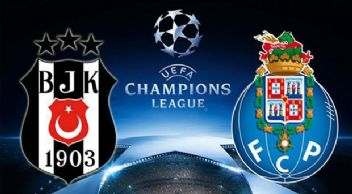 Şampiyonlar Ligi Beşiktaş 1-1 Porto İlk Yarı