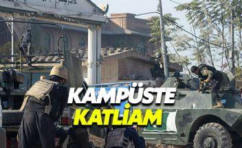 Pakistan'da teröristler üniversiteye saldırdı