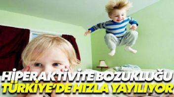 Erkek çocuklarda hiperaktivite daha çok gözlemleniyor