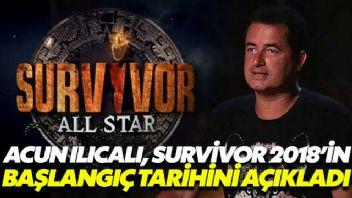 Ilıcalı Survivor'ın başlangıç tarihini açıkladı