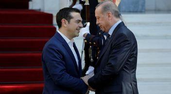Erdoğan'ın Yunanistan temasların Lozan gerginliği