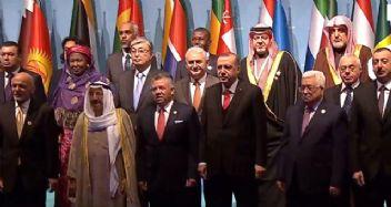 İstanbul'daki İslam ülkeleri zirvesinden tarihi Kudüs kararı