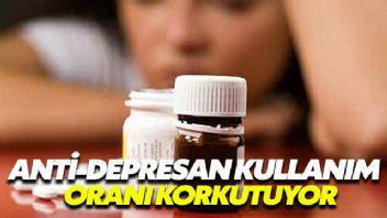 Ülkemizde anti depresan kullanım oranı korkutuyor
