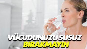 Yeterli sıvı tüketmediğinizi nasıl anlarsınız?