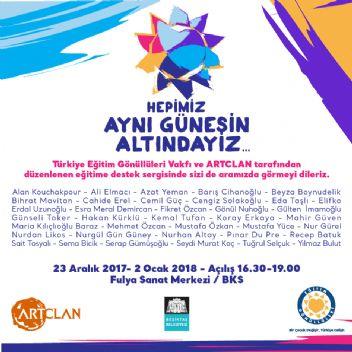 Sanatçılar, Türkiye Eğitim Gönüllüleri yararına bir araya geliyor