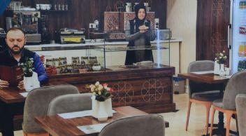 Cami altı Diyanet Kafe