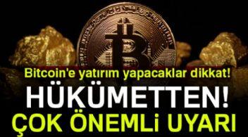 DİKKAT...Bitcoin için son uyarı