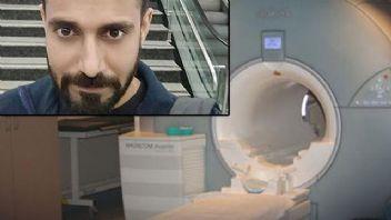 Hindistan'da MRI cihazı adamı yuttu