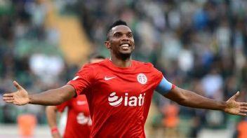 Konyaspor, Samuel Eto'o ile anlaşma sağladı