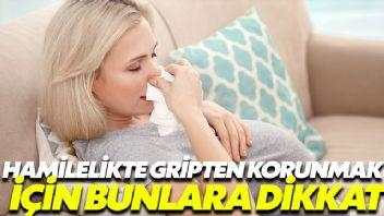 Hamilelikte gripten korunma kılavuzu