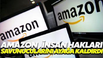 Amazon'un yeni adımı insan hakları savunucularını ayağa kaldırdı