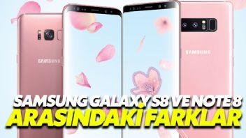 Samsung Galaxy S8 Ve Note 8 Arasındaki Farklar