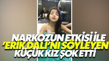 Narkozun Etkisi İle 'Erik Dalı'nı Söyleyen Küçük Kız Şok Etti