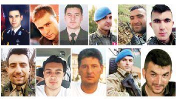 Türkiye yasta: Afrin'den 11 şehit haberi