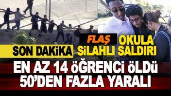Okul'da Katliam 17 Öğrenci Öldürüldü...