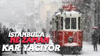 İstanbul'a Ne Zaman Kar Yağacak