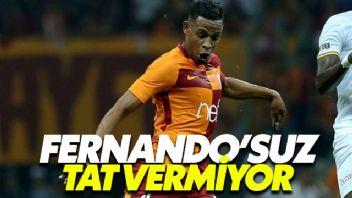Galatasaray Fernando'suz Tat Vermiyor