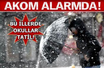Uzmanlar Açıkladı... İstanbul'a Beklenen Kar Geliyor...