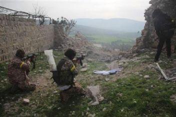 Afrin'e bağlı Raco beldesi terörden temizlendi