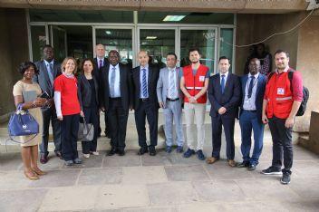Zambiya'ya, KIZILAY'ın eli değdi